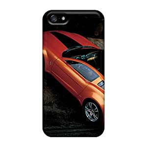Quality SuperMaryCases Case Cover With Mustang Nice Appearance Compatible With Iphone 5/5s
