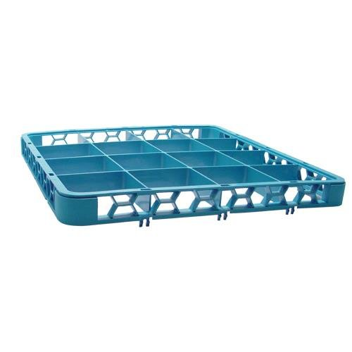 Carlisle RE1614 OptiClean 16 Compartment Divided Glass Rack Extender, 1.78