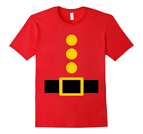 Him And Her Halloween Costumes (Mens Dwarf Costume T-Shirt Funny Halloween Gift 2XL Red)