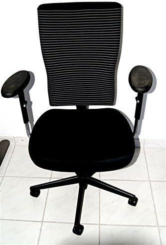 Sedia Da Ufficio Usata.Vitra Sedia Da Ufficio Tchair Usato Nero T Di Chair Con Gessato Schienale Amazon It Cancelleria E Prodotti Per Ufficio