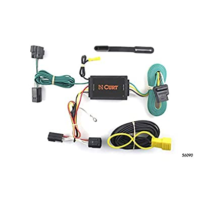 CURT 56090 Vehicle-Side Custom 4-Pin Trailer Wiring Harness for Select Ford Transit Connect: Automotive
