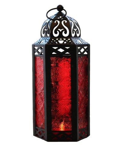 red candle holder - 8