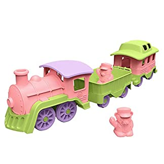 Toy Train, Pink/Green, by Green Toys