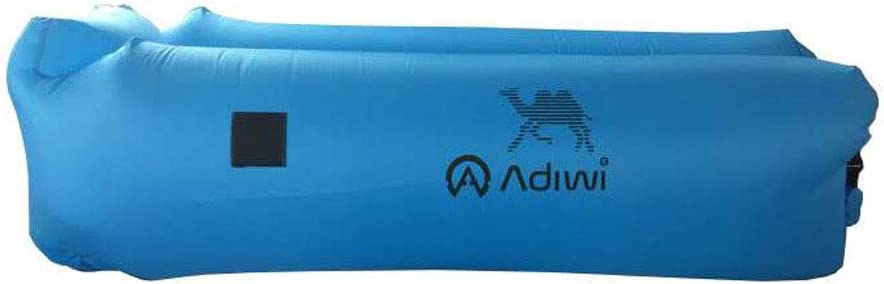 Space Saving Ideal for Camping and Outdoor Use Includes Waterproof Phone Case Anchor Stake and Carry Pouch adiwi Inflatable Lounger Couch Bed with Headrest Air Sofa