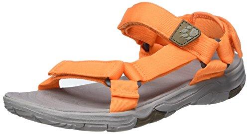 Jack Wolfskin Womens Seven Seas 2 W Sandalo Atletico Di Papaia