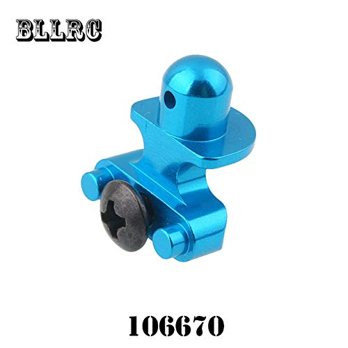RC Car HSP unlimited 1 10 1 10 upgrade piece 06004 106670 aluminum alloy front car shell prop body prop with screw 94107 94105   Sky bluee