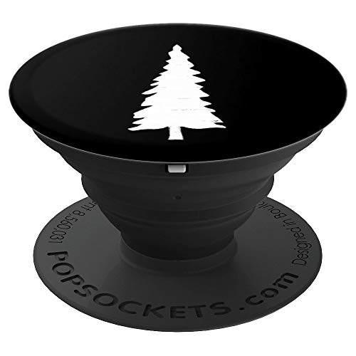 PCT White Painted Pacific Crest Trail Blaze Symbol - PopSockets Grip and Stand for Phones and Tablets