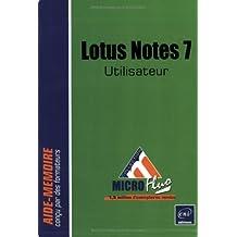 Lotus Notes 7 - utilisateur