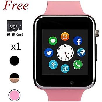Amazon.com: Smartwatch, Bluetooth Smart Relojes y Teléfono ...