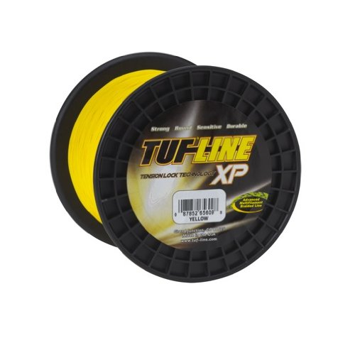 - Western Filament Tuf-Line XP 2500-Yard Braided Fishing Line (Yellow, 130-Pound)