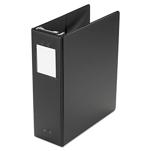 Wilson Jones 36549B Hanging Ring Binder, Vinyl, 3