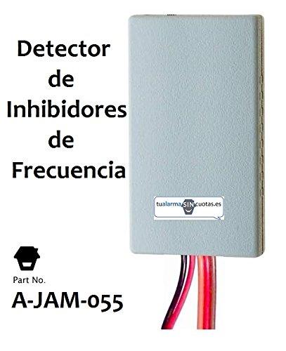 Detector de inhibidores de frecuencia, Sensor de Detección de Rango de frecuencia, Detector