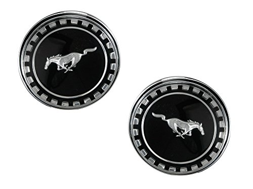 Fastback Mustang Roof - Mustang Roof Emblem Fastback Pair 1969