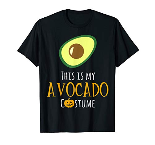 This is My Avocado Costume Easy Family Halloween T-Shirt]()