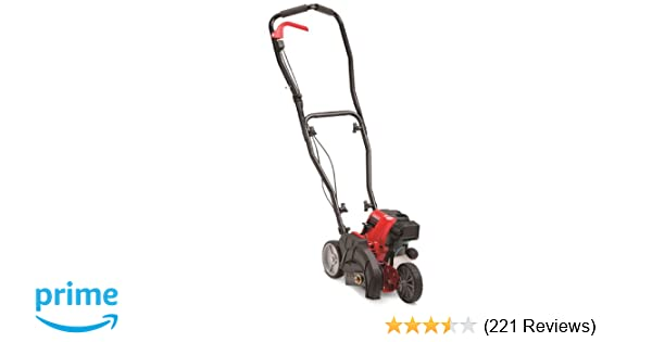 amazon com troy bilt tb516 ec 29cc 4 cycle wheeled edger with
