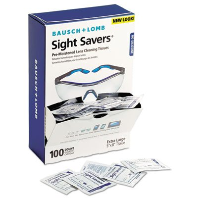 (Sight Savers Premoistened Lens Cleaning Tissues, 100 Tissues/box Tools Equipment Hand Tools)