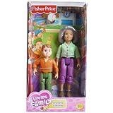 Fisher-Price Loving Family Grandma and Brother Dolls, Baby & Kids Zone
