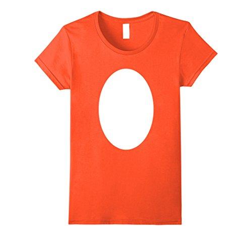 Womens DIY Halloween Costume Idea Christmas Reindeer Rudolph Shirt Medium (Orange Is The New Black Costume Ideas)