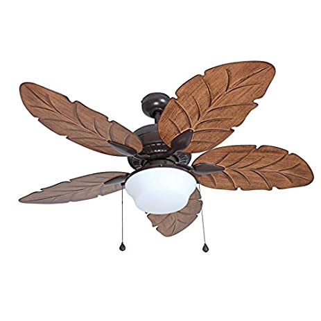 Harbor breeze waveport 52 in bronze outdoor downrod mount ceiling harbor breeze waveport 52 in bronze outdoor downrod mount ceiling fan with light kit mozeypictures Gallery