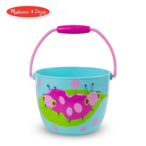 Melissa & Doug Sunny Patch Dixie and Trixie Ladybug Pail - Outdoor Toy for Kids