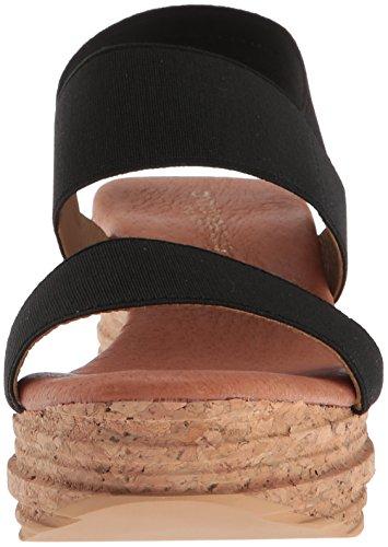 André Assous Women's Nieta Wedge Sandal Black bZBHM