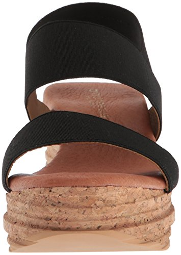 André Assous Women's Nieta Wedge Sandal Black TQQ2yqSx0