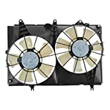 Radiator Dual Cooling Fan Assembly for 03-04