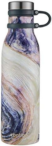 Contigo 2045468 Couture - Botella de agua (acero inoxidable), Twilight Shell, 591.47 mililitros, 1