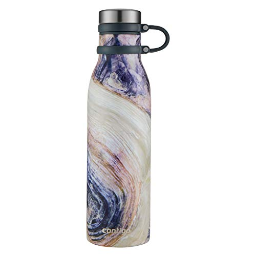 Contigo 2045469 Couture Thermalock Vacuum-Insulated Stainless Steel Water Bottle, 20 oz, Twilight (Star Stainless Steel Bottle)