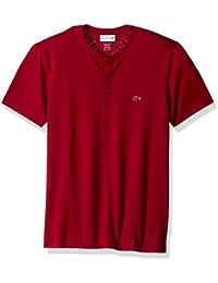 Men's Short Sleeve Henley Jersey Pima T-Shirt, TH0884