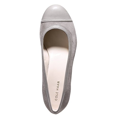 Cole Haan Dames Elsie Cap Teen Wedge 40mm Rockridge Suède