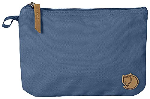 Fjallraven Gear Pocket - Minimalist Travel Toiletry Bag, Accessory Kit, Dopp Kit - G1000 ECO with Genuine Leather Accents