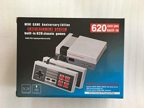 Mini Video Game Console Game player Entertainment System Classic 620 Built-in Games with 2 Controllers