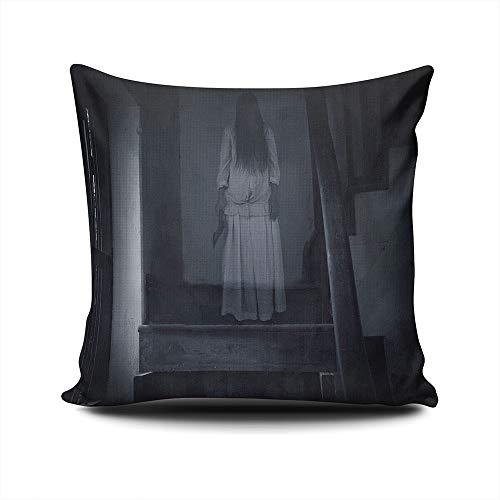 YOLIYANA Pillowcase with Pattern Halloween Home Sofa Decoration Pillowcase with Pattern 12×12 Inches ()