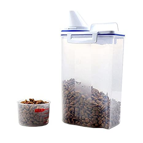 dry food containers leffberg pet food container dog storage containers dry dispenser with graduated cup and seal supplies