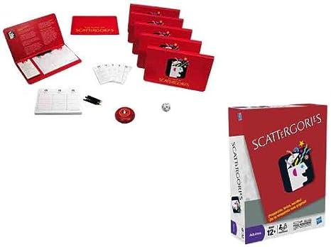 Hasbro Juegos En Familia Juego Scattergories 27-5721: Amazon.es: Juguetes y juegos