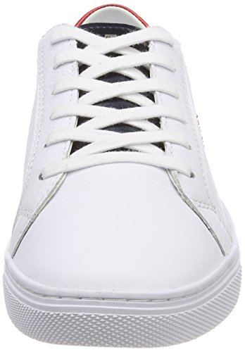 Star Basses Rwb 36 Tommy Sneaker Metallic 020 EU Femme Hilfiger Sneakers Blanc Rouge Tommy Zq6YaF