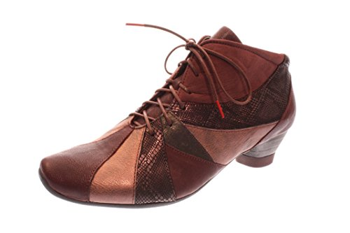 Think! Femmes Chaussures Basses Chianti Kombi Rouge, (Chianti Kombi) 7-87264-35