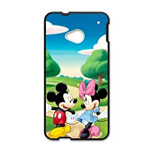 Mickey's Twice Upon a Christmas HTC One M7 Cell Phone Case Black J9905371