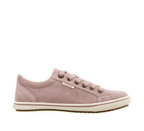 Sneaker Suede Star Pink Taos Retro Footwear Women's qpwHwYFx7I