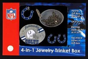 NFL Indianapolis Colts 4 in 1 Trinket Box