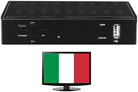 Italia IPTV Internet TV sin suscripción más de 200 Italiano y Deutsche emisor HDTV: Amazon.es: Electrónica