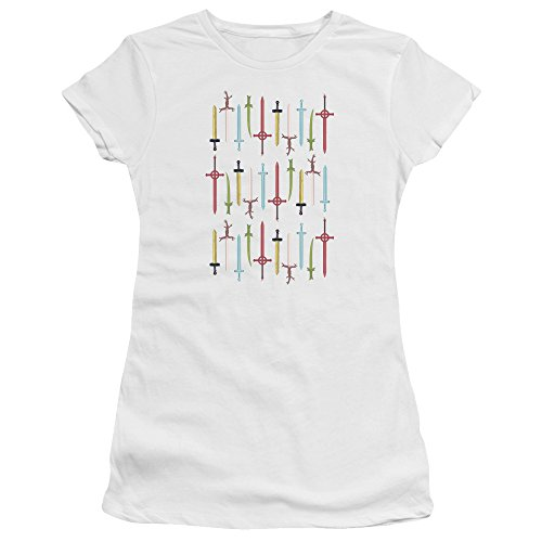 Femmes Time Adventure Epées Tee Jeunes White Shirt w6Z7zqxa