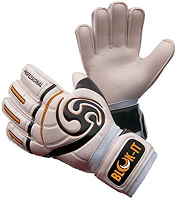 Blok-IT Goalkeeper Gloves By Goalie Gloves to Help You Make the Toughest Saves – Secure and Comfortable Fit With Extra Padding to Reduce the Chance of Injury