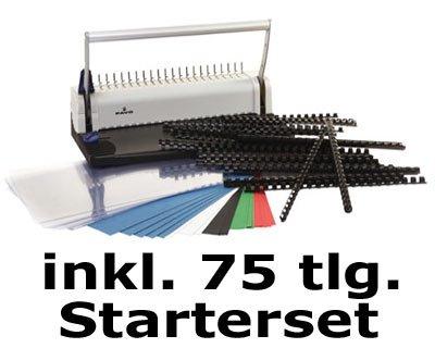 SMARTMASTER 2, Bindegerät bis 150 Blatt, inkl. 75teiligem Starterset