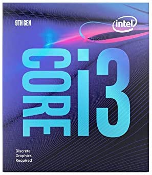 Intel Core i3-9100F Desktop Processor 4 Core Up to 4.2 GHz with out Processor Graphics LGA1151 300 Series 65W
