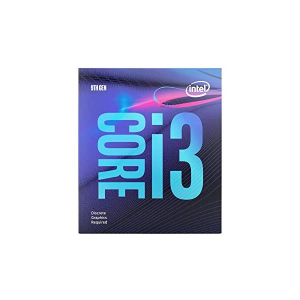 Intel Core i3-9100F Desktop Processor 4 Core Up to 4.2 GHz Without Processor Graphics LGA1151 300 Series 65W…