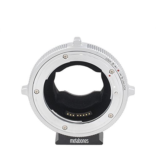 'Metabones Canon EF Cine E-Mount Black/Chrome for sale  Delivered anywhere in USA