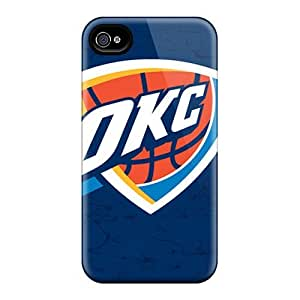 SherriFakhry Iphone 6 Bumper Hard Phone Case Allow Personal Design HD Oklahoma City Thunder Pictures [EeG17229MvYo]