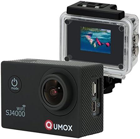 QUMOX WiFi SJ4000 - Cámara de Deporte, Video de Alta definición 1080p 720p, Color Negra + Carcasa Impermeable: Amazon.es: Deportes y aire libre